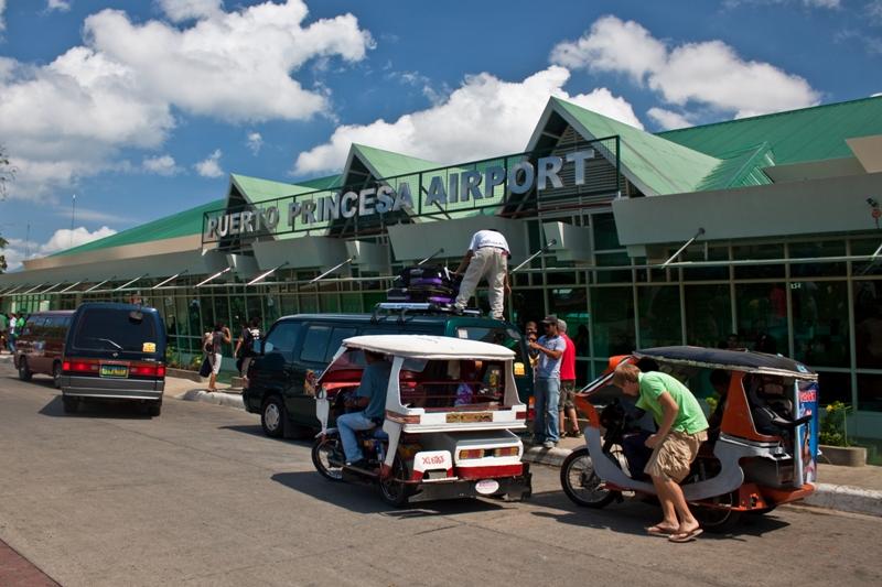 Аэропорт Пуэрто-Принсеса на Филиппинах