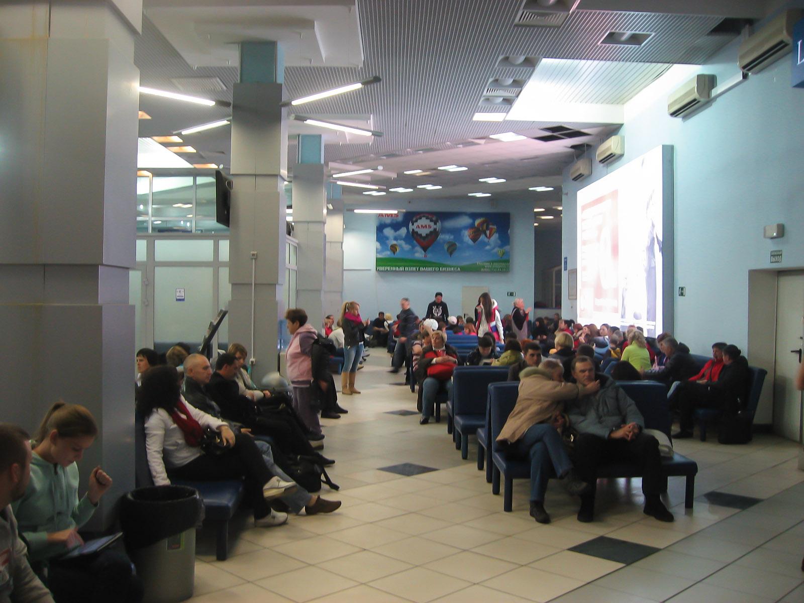 Терминал 2 аэропорта Емельяново