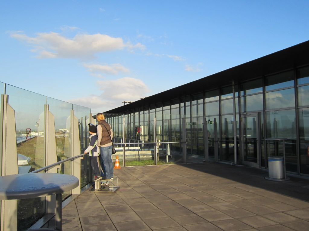 Смотровая площадка в аэропорту Дортмунд