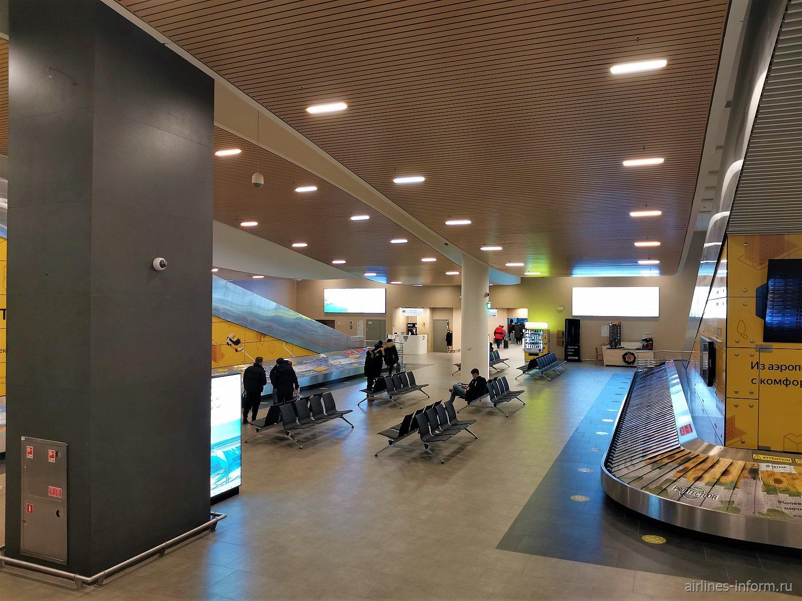 Зона выдачи багажа в аэропорту Платов Ростова-на-Дону