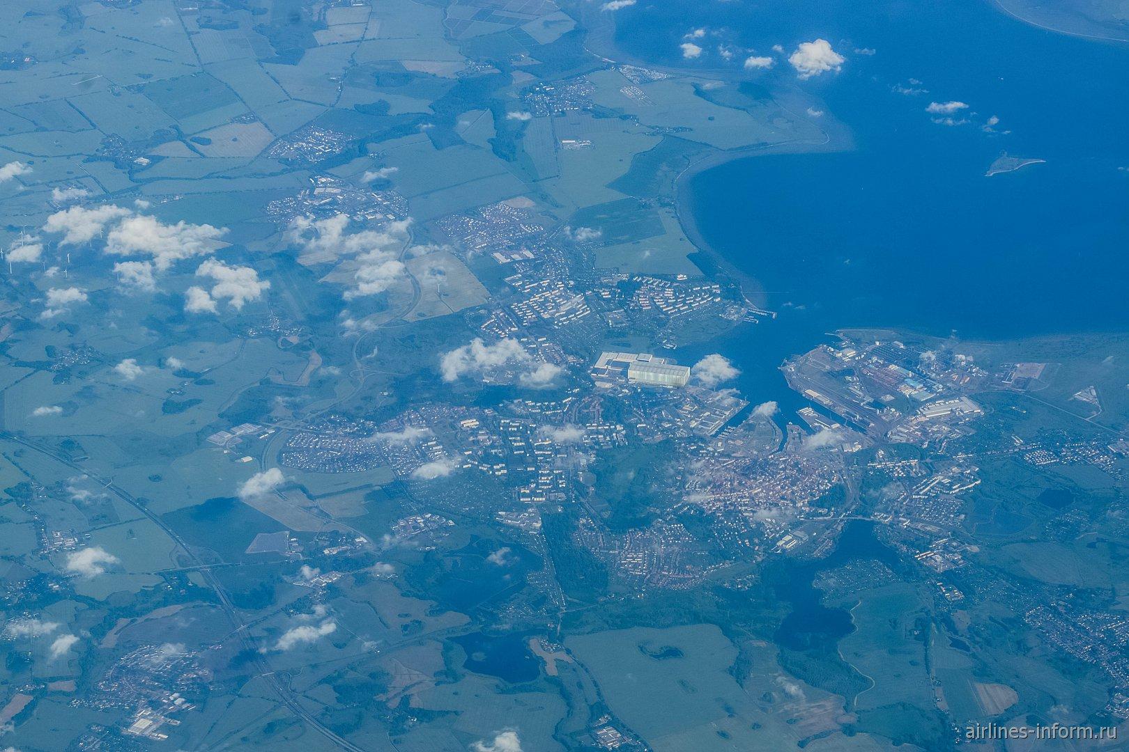 Город Росток в Германии