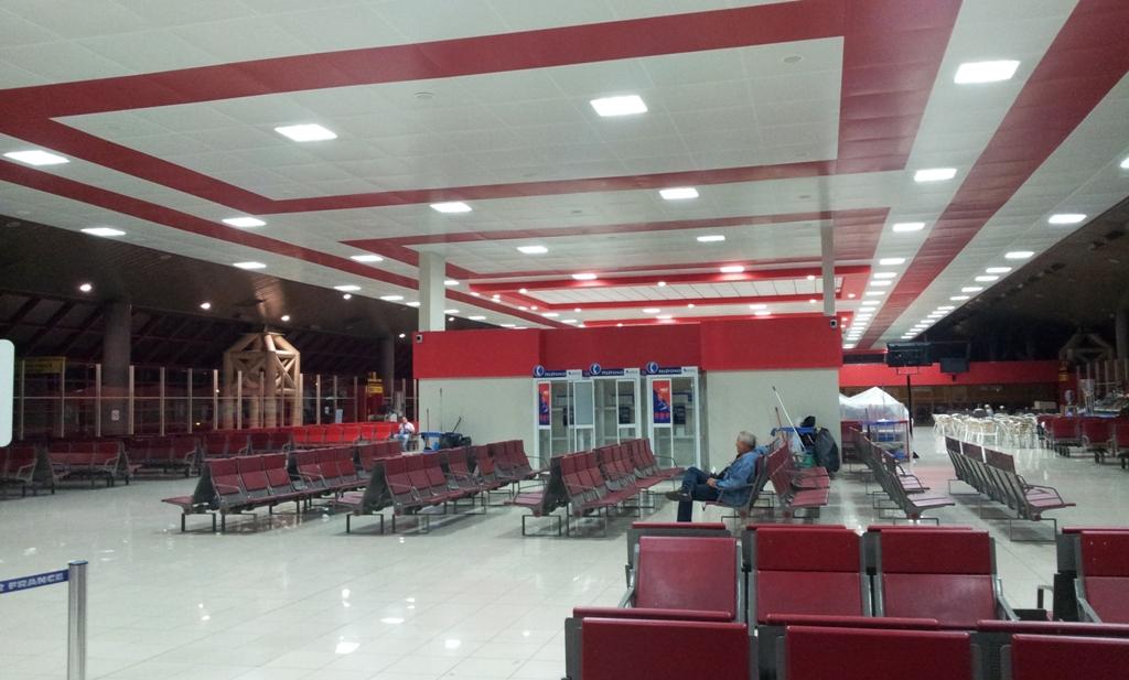 Зал ожидания в аэропорту Гавана Хосе Марти