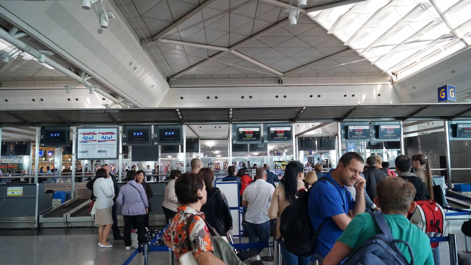 Аэропорт Ататюрка в Стамбуле