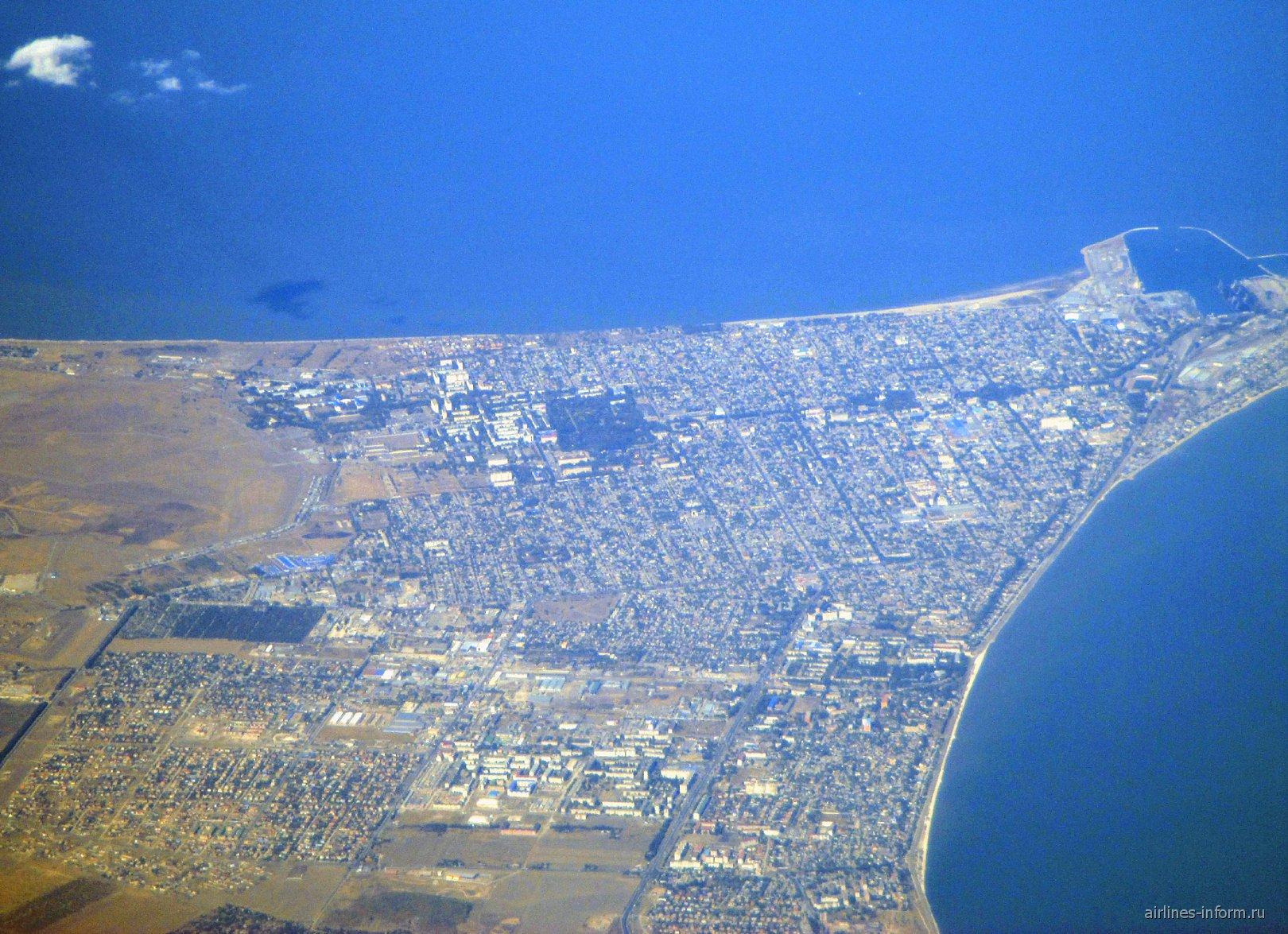 Город Ейск на берегу Азовского моря