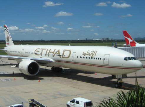 To Bangkok through Abu Dhabi with Etihad
