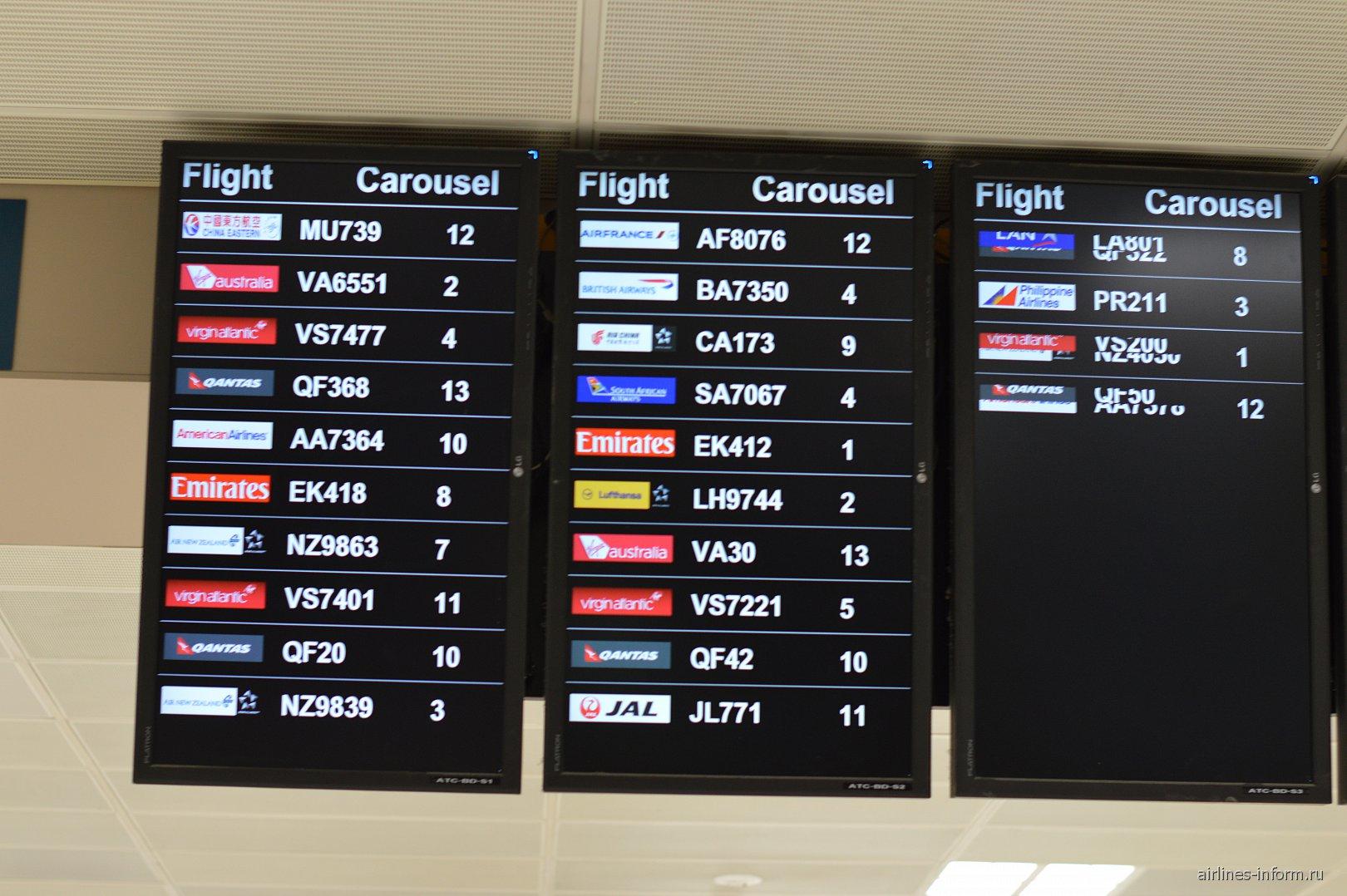 В аэропорту Сиднея