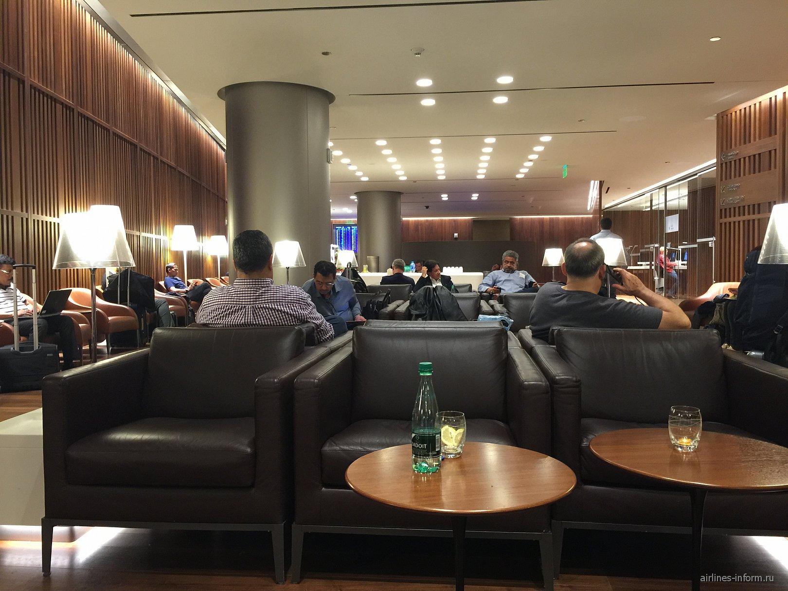 Бизнес-зал в аэропорту Хамад