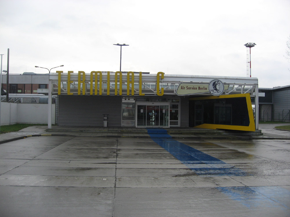 Terminal C of Berlin Schohefeld Airport