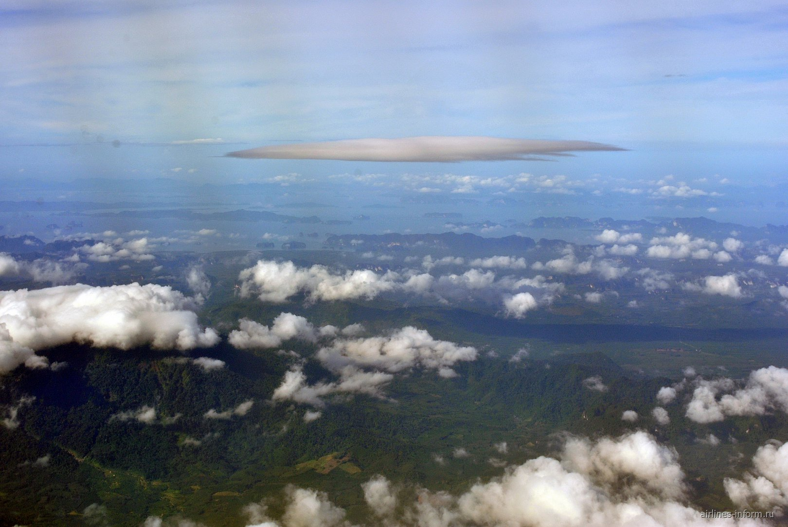 Провинция Краби и Адаманское море в Таиланде