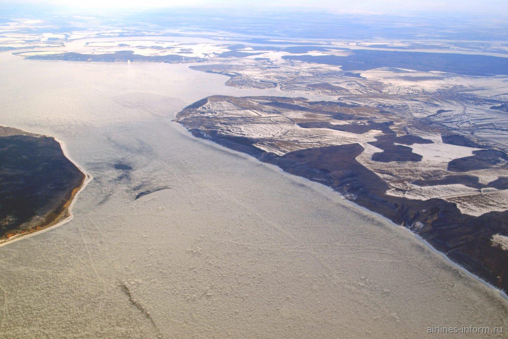 Куйбышевское водохранилище вблизи Самары