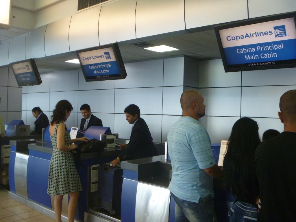 Регистрация на рейсы Copa Airlines в аэропорту Панама Токумен