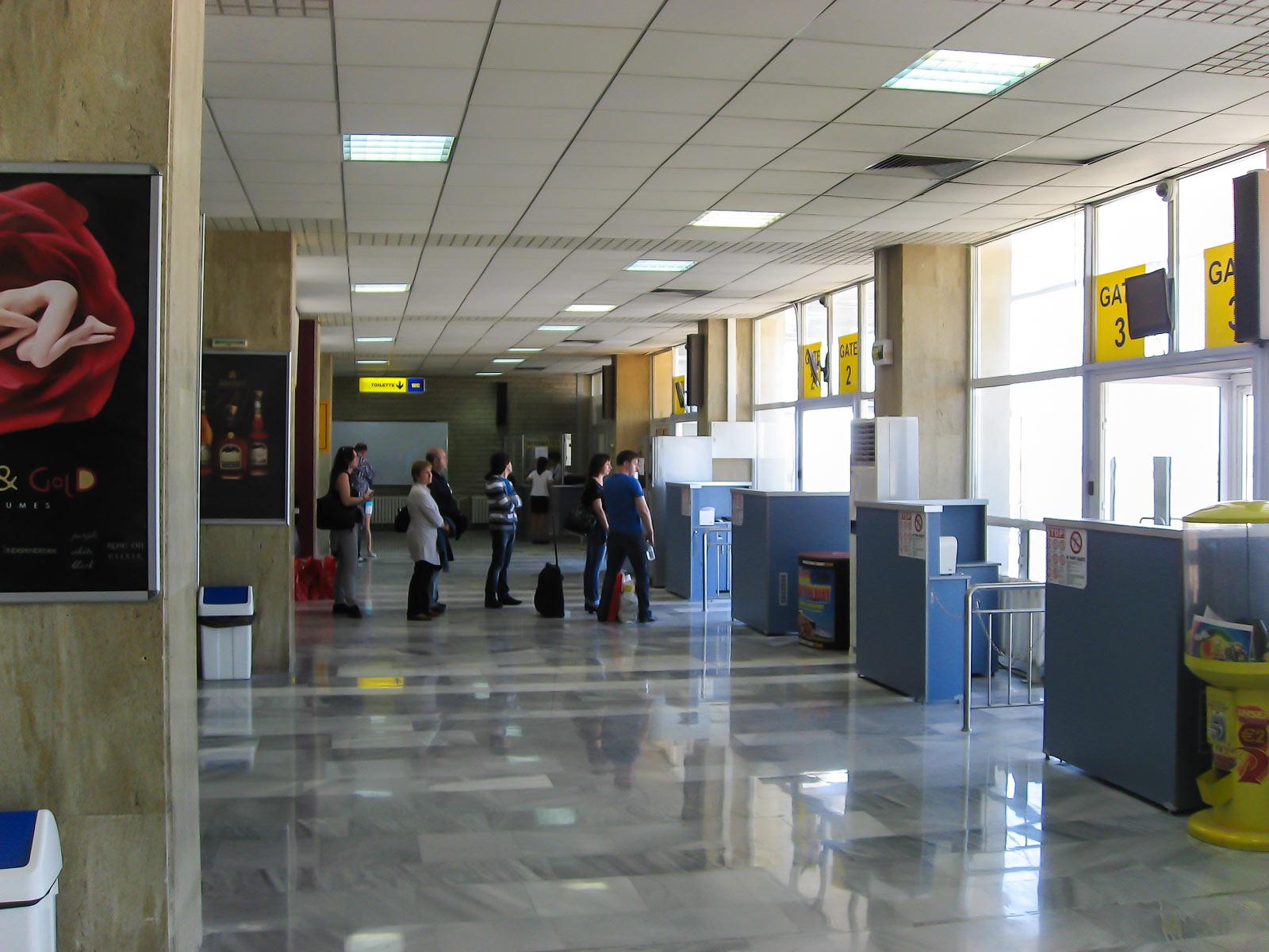 Выходы на посадку в аэропорту Бургас