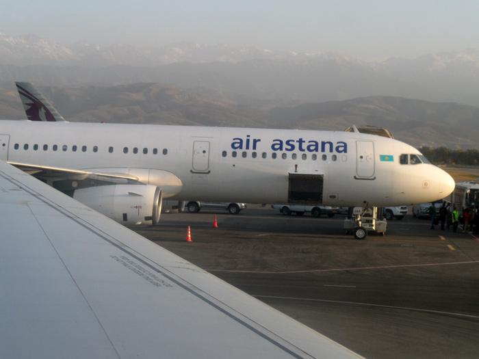 Астана - Алматы - Казань с Air Astana - Путешествие в Казахстан, часть 3