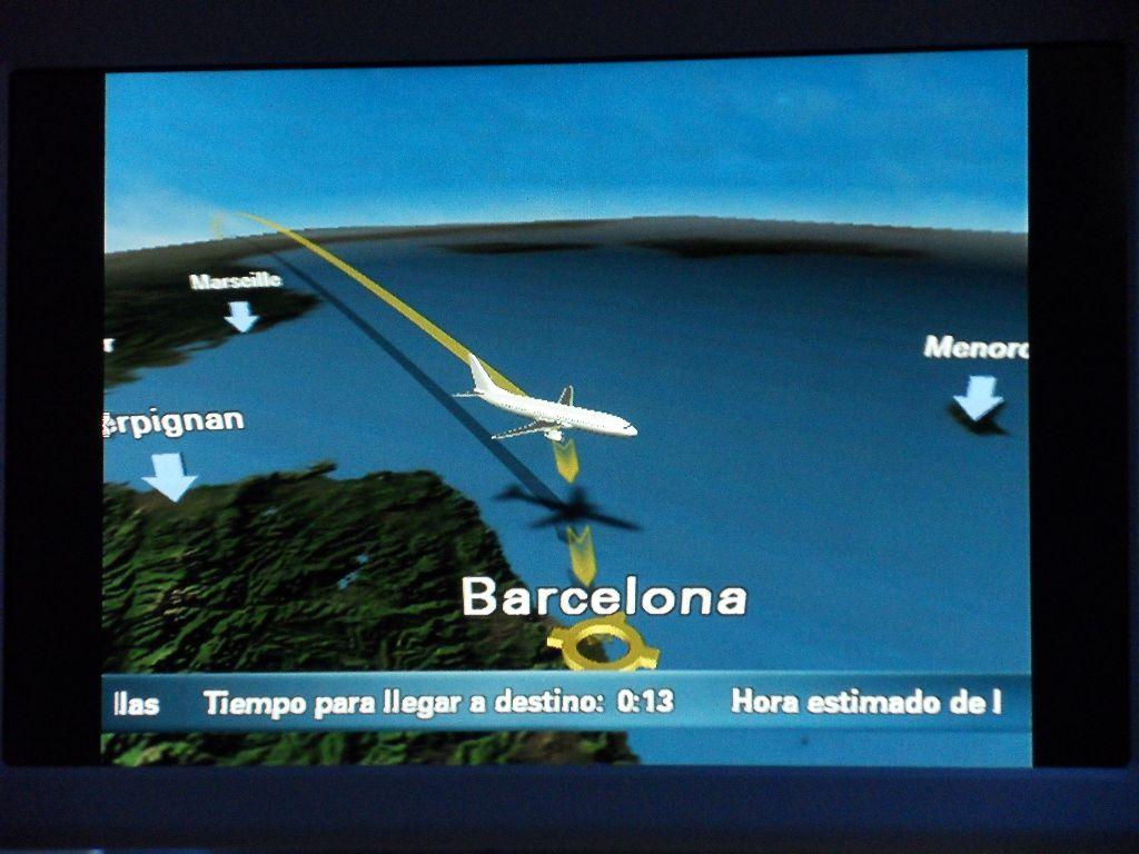 Система развлечений авиакомпании Air Europa