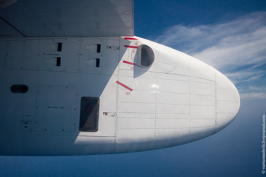 В полете на самолете Xian MA60