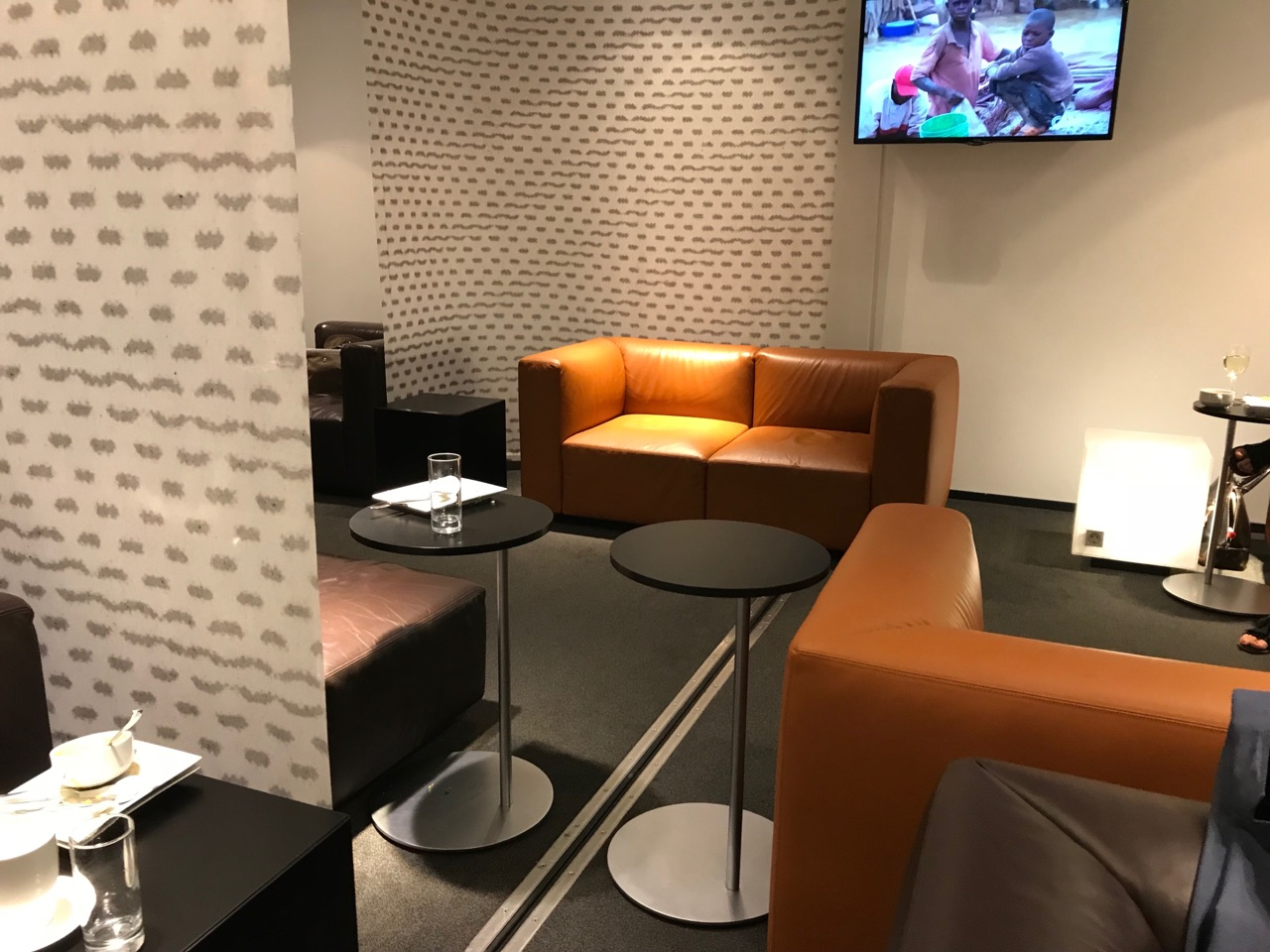 В бизнес-зале Sky Lounge в терминале 3 аэропорта Вена Швехат
