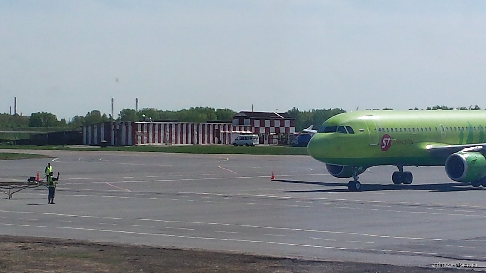 В аэропорту Перми