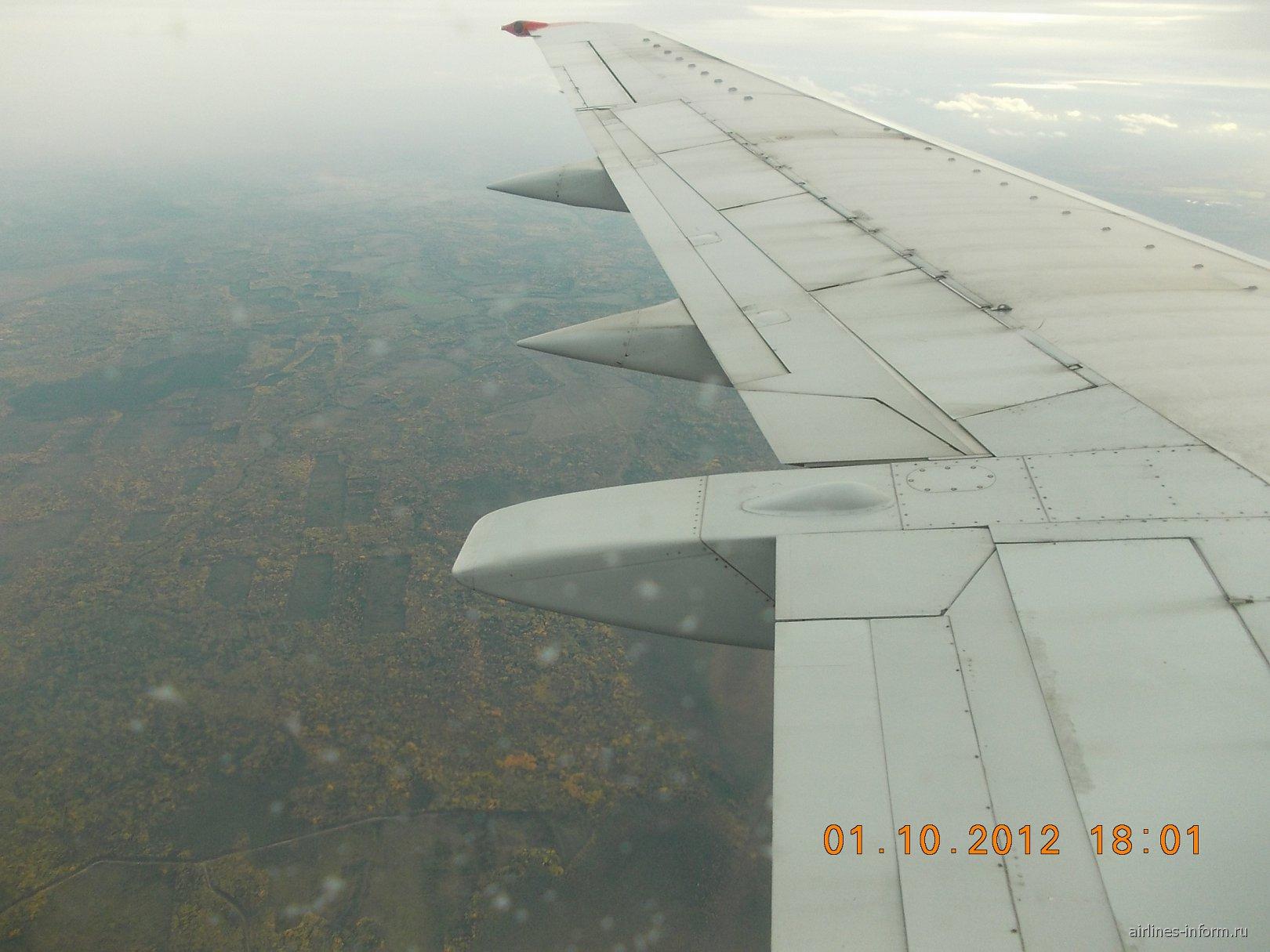 Рейс Сыктывкар-Санкт-Петербург авиакомпании Нордавиа