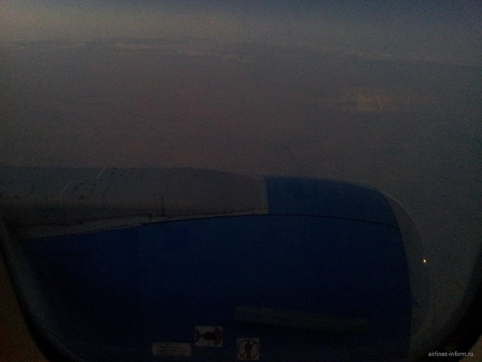 На борту самолета авиакомпании СКАТ