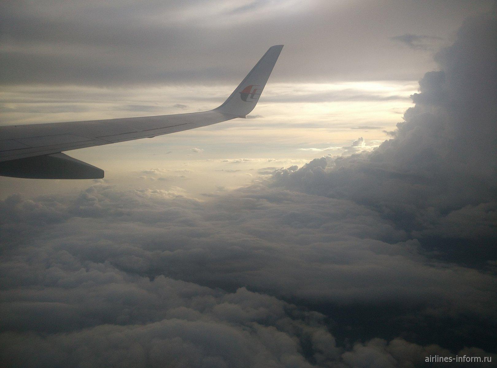 Турне по Юго-Восточной Азии. Часть 3-я. Рейсом MH-795 Malaysia airlines c Пхукета (HKT) в Куала-Лумпур (KUL)