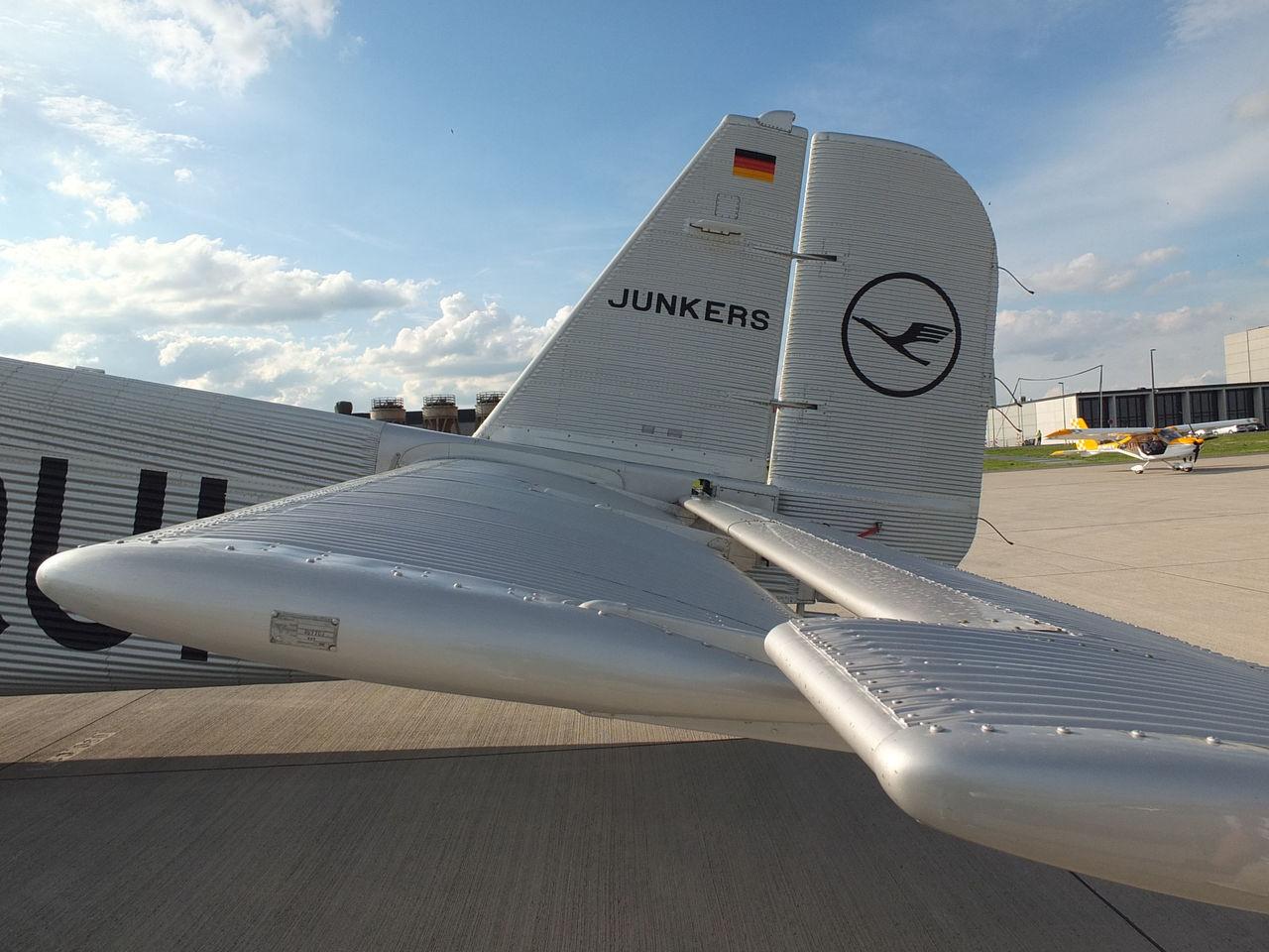 Самолет Юнкерс Ю-52 авиакомпании Люфтганза