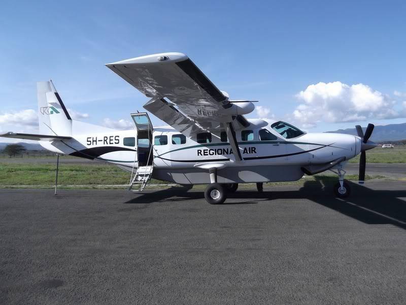 Cessna 208 5H-RES авиакомпании Regional Air в аэропорту Аруша