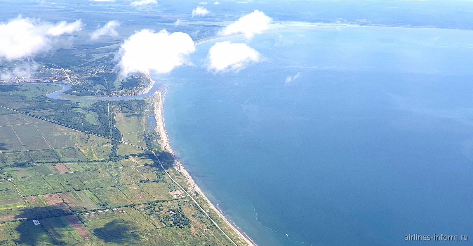 Анивский залив на острове Сахалин