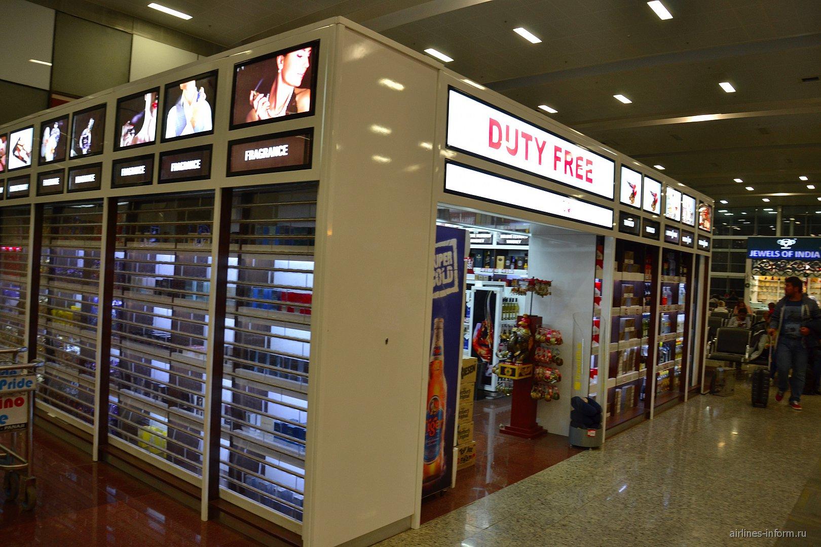 Магазин Дьюти-фри в аэропорту Гоа Даболим