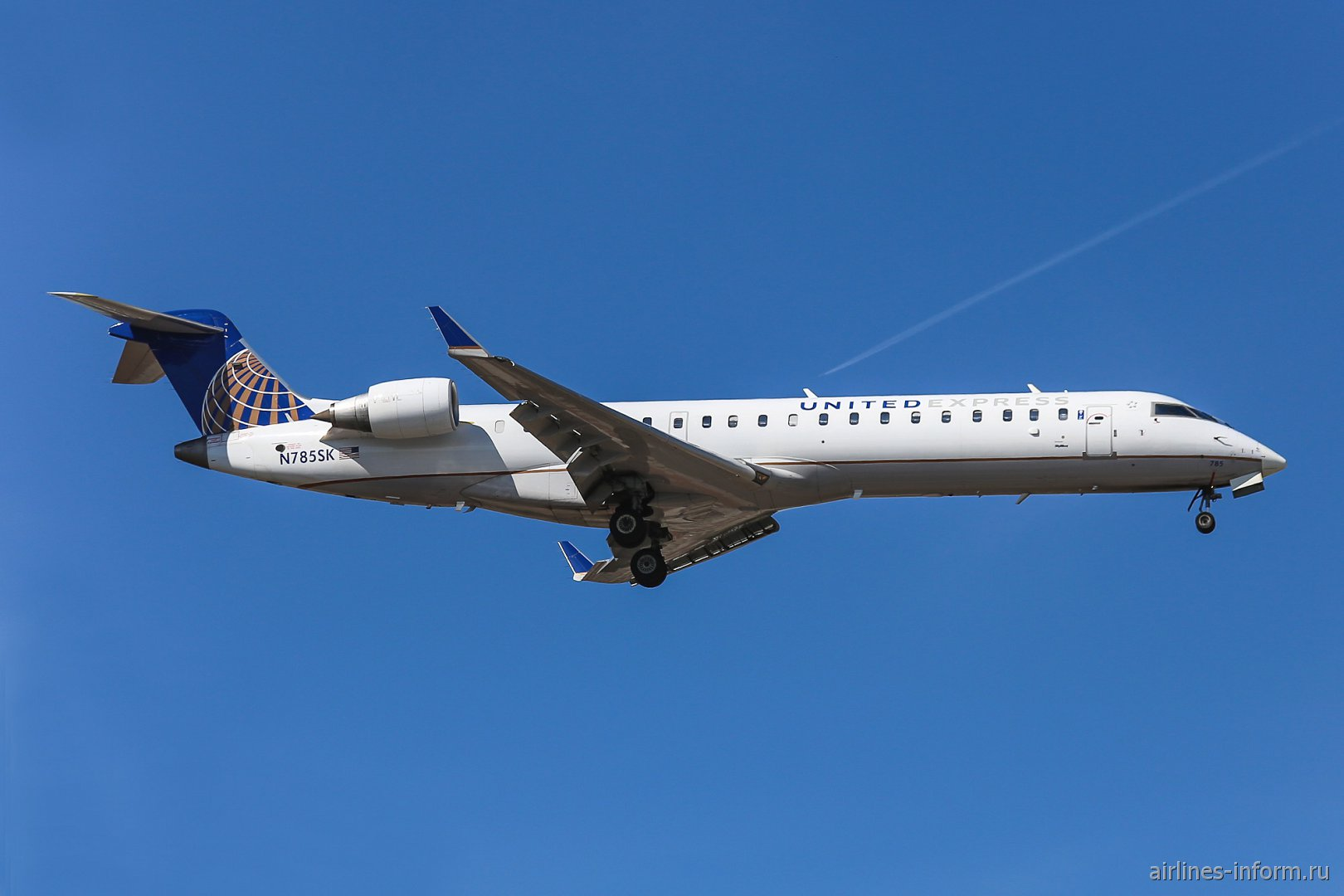 Bombardier CRJ-702 N785SK авиакомпании SkyWest Airlines