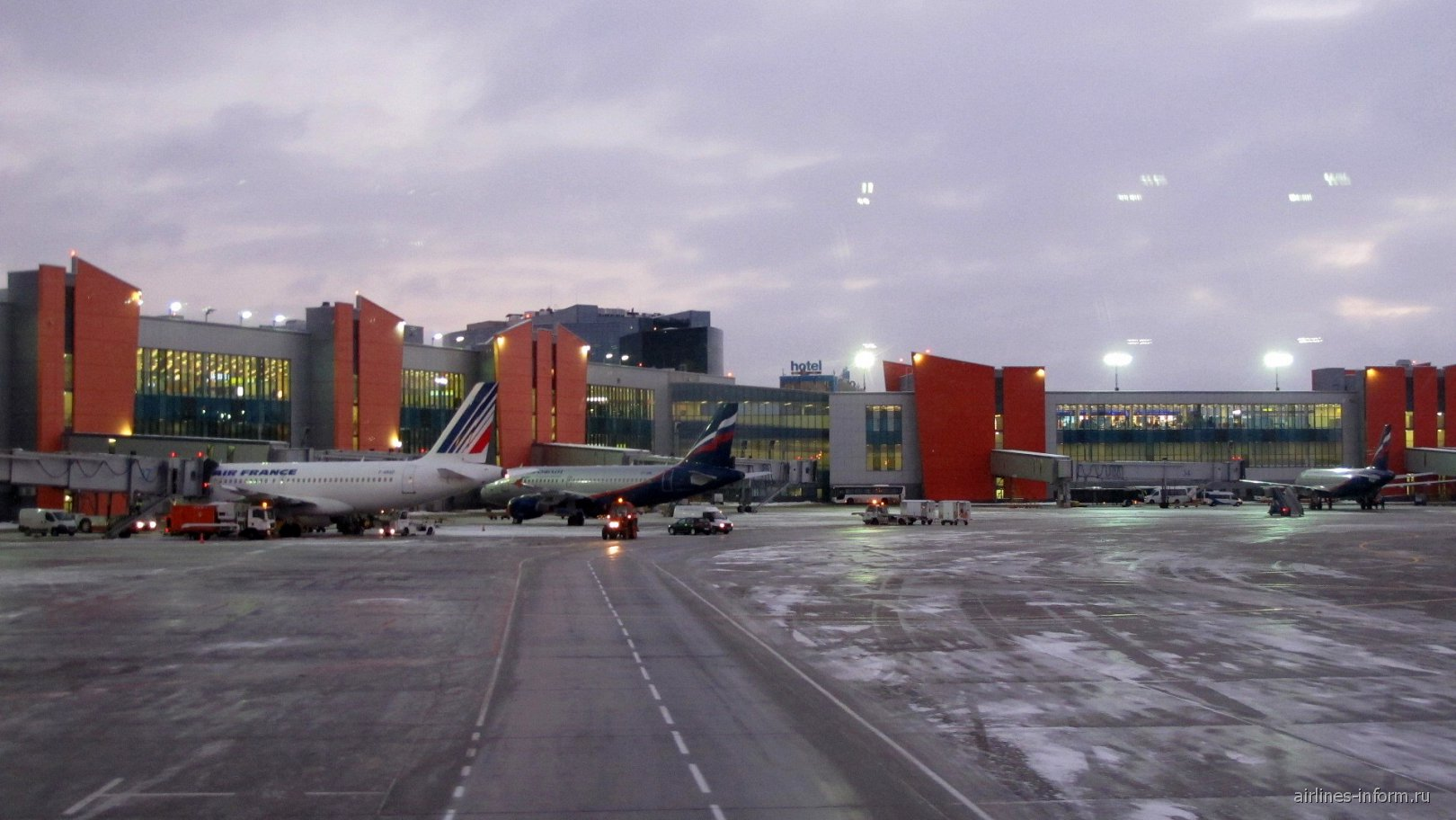 Терминал Е аэропорта Москва Шереметьево