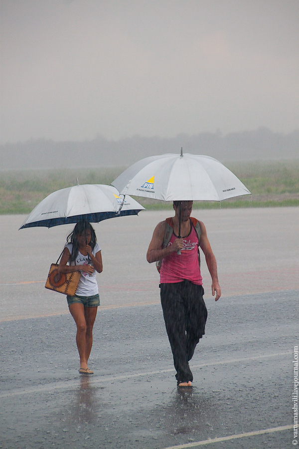 В аэропорту Ломбок