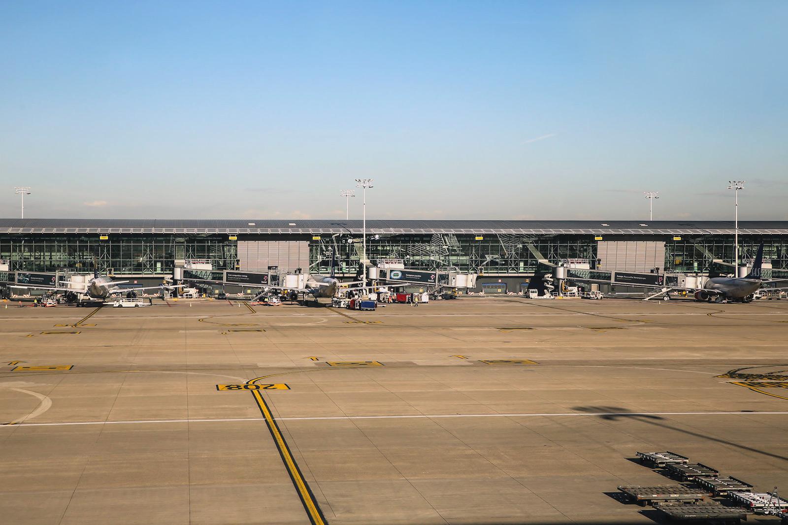 Пирс А терминала аэропорта Брюссель