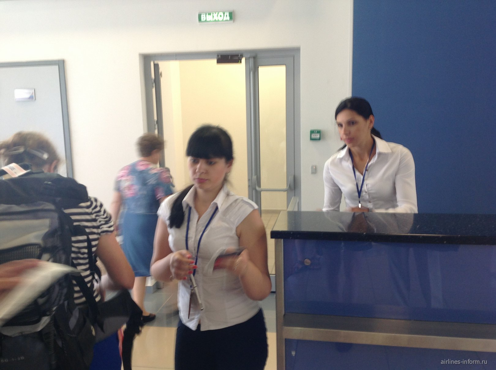 Посадка на рейс Аэрофлота Владивосток-Москва