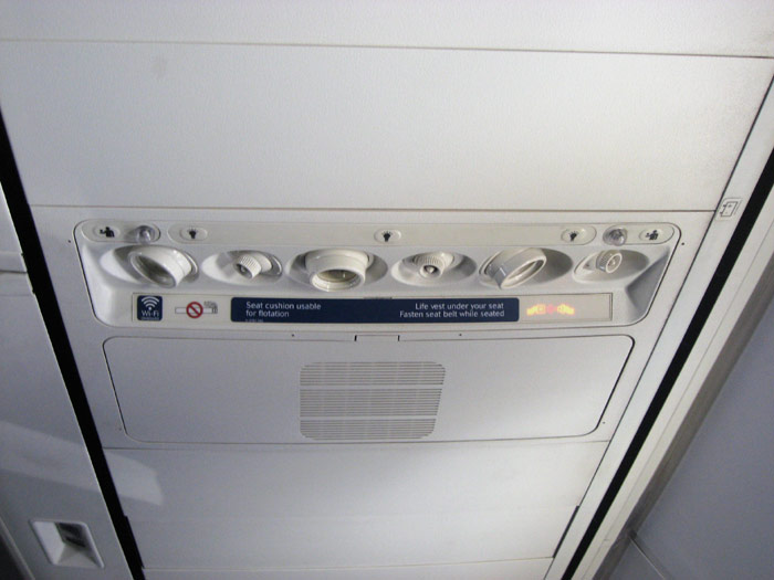 Салон самолета Боинг-737-800 авиакомпании Дельта