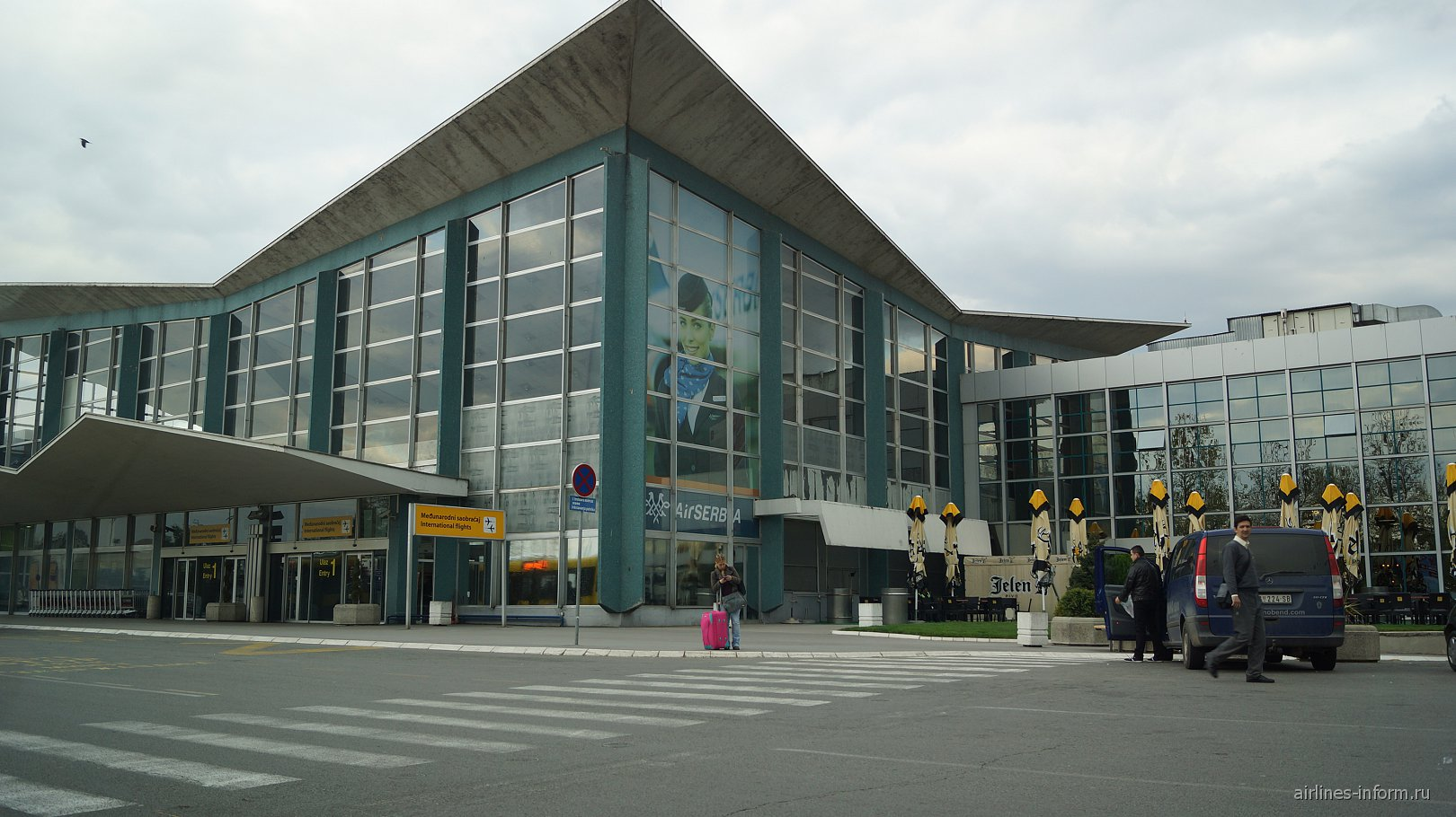 Терминал 1 аэропорта Белград Никола Тесла