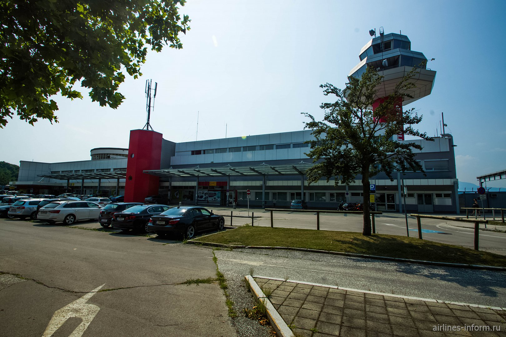 Юбилей. Аэропорт Клагенфурт Альпе-Адриа, Австрия