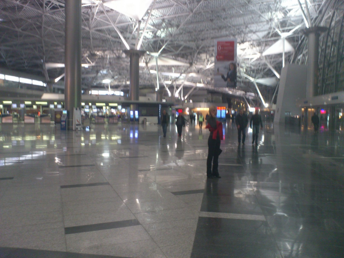 Moscow Vnukovo airport