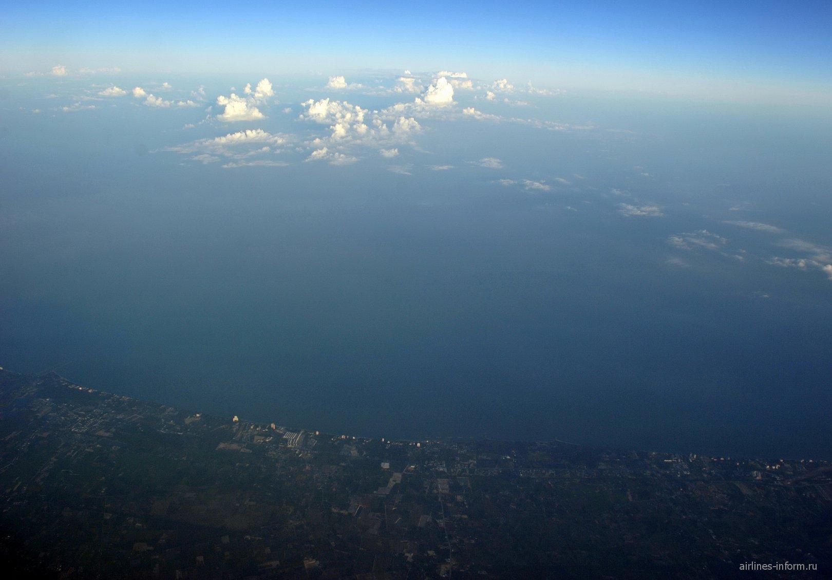 Облака над Сиамским заливом