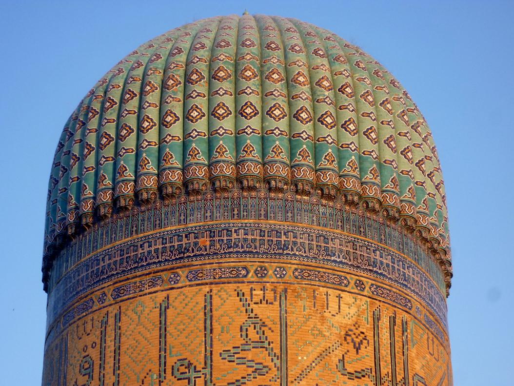 Купол мечети Би Би Ханум в Самарканде