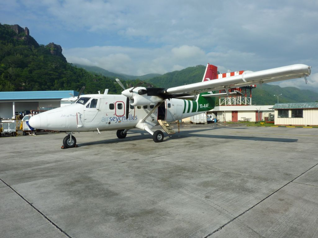 Самолет DHC-6 Twin Otter авиакомпании Air Seychelles