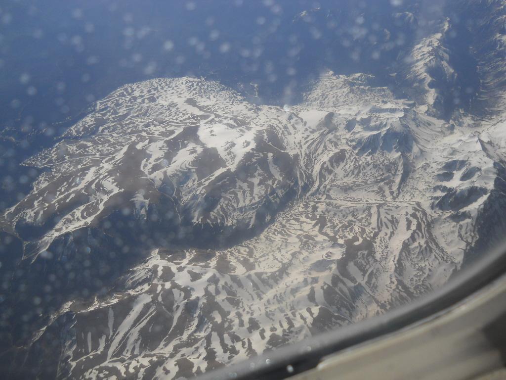В полете над Кавказом