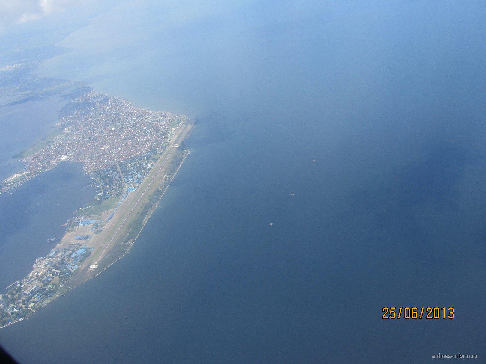 Перелет над Филиппинами из Манилы в Катиклан