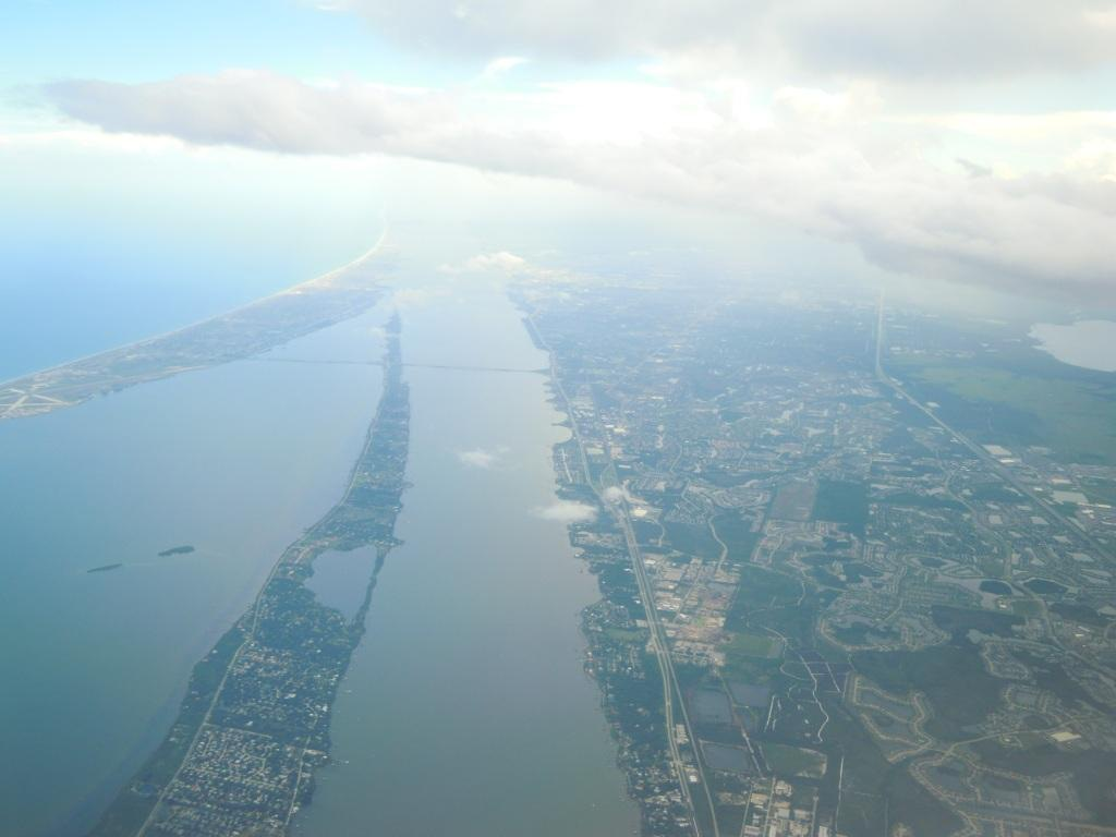 Descending to Orlando airport