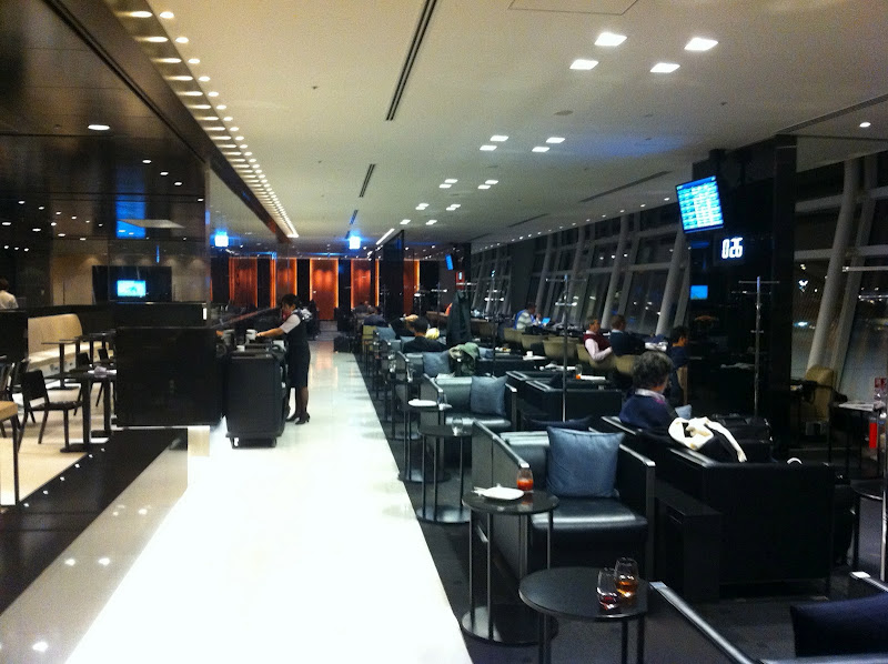 Business lounge in Tokyo Haneda Airport