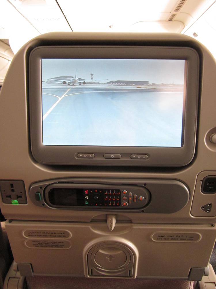 Система развлечений в самолета Boeing 777-300 Emirates
