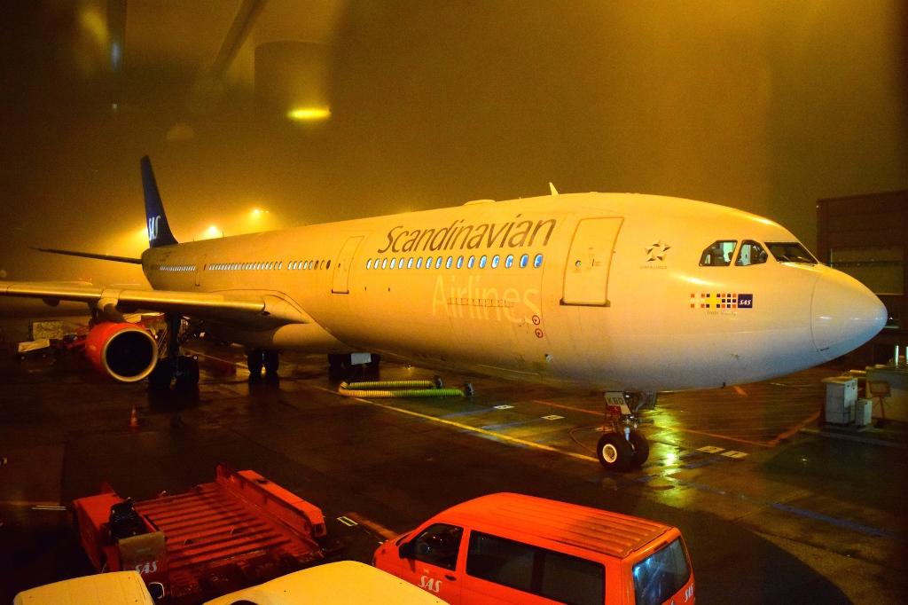 Копенгаген - Токио на А340-300 SAS
