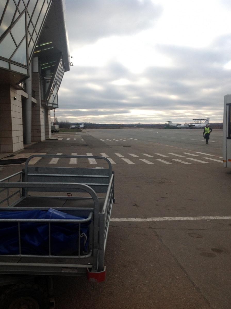 В аэропорту Нижний Новгород Стригино