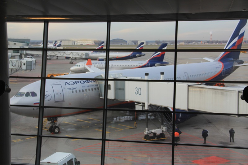 Los Angeles – Moscow with Aeroflot