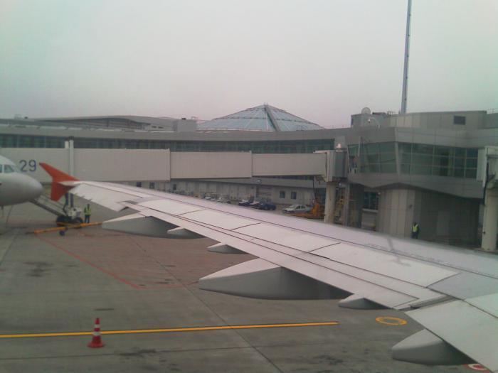 В аэропорту Копенгагена