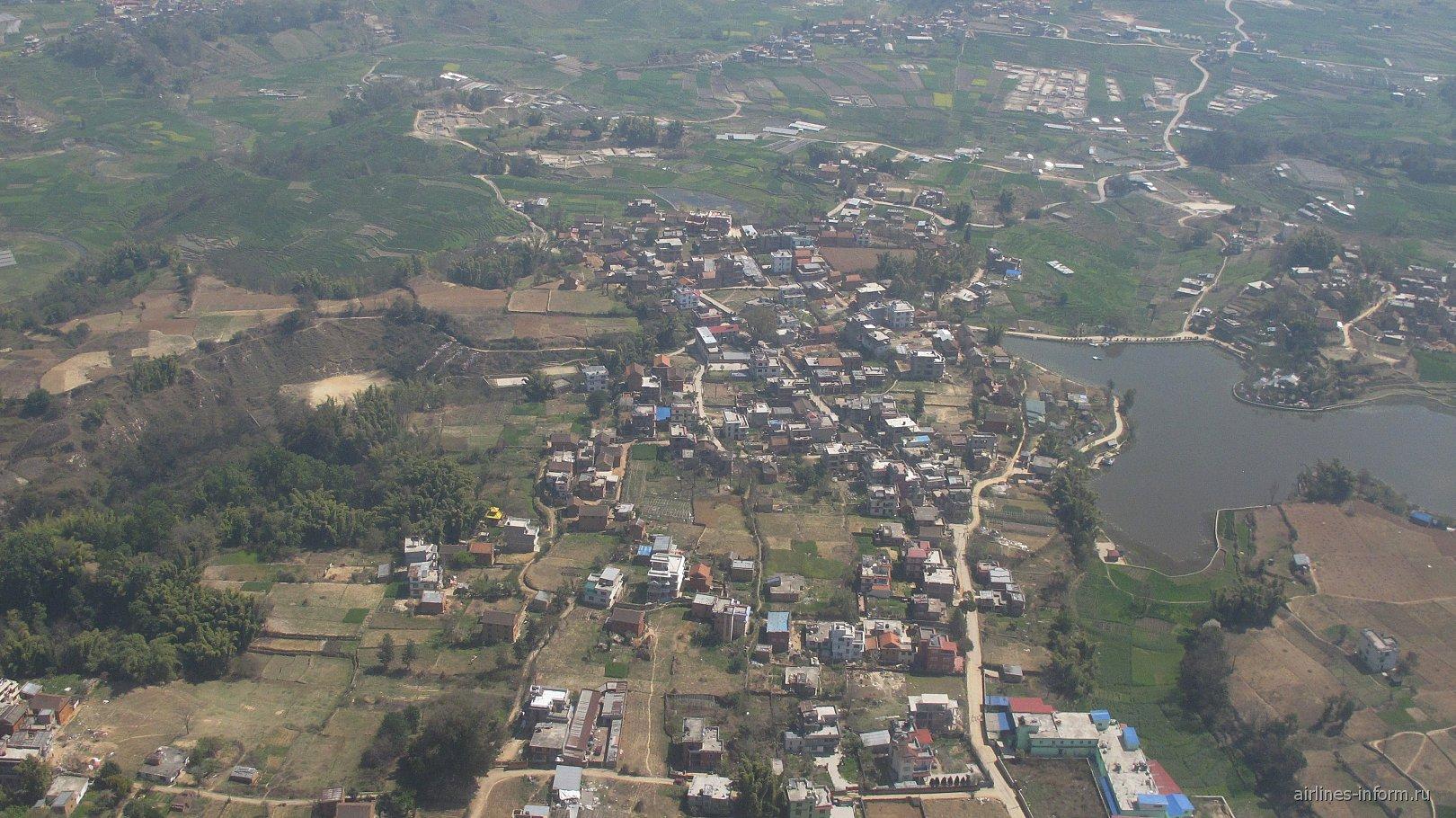 Пригород города Катманду